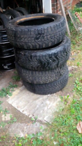 4 Winter Tires Firestone 215/60 R 16  Tires Only