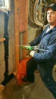 Foundation Crack Repair and Waterproofing