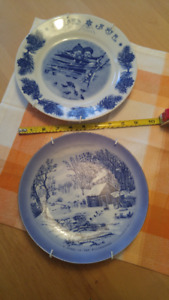 Two collectors plates