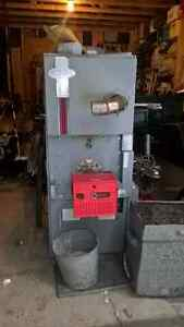 Late 1990s OHB oil burning furnace