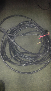 3/6 guage direct bury wiring, outdoor rated