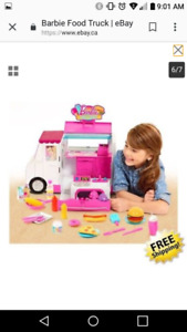 Looking for a Barbie food truck