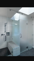 Shower Glass and Mirror