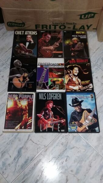COLLECTABLE VINTAGE RARE HI END ENGLISH GUITAR DVD IMPORT FROM USA.
