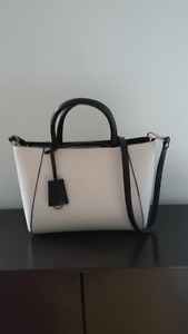 ZARA BLACK & WHITE PURSE