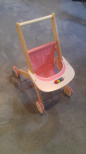 Hape Babydoll Toy Stroller-Great Condition
