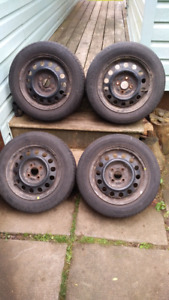 14 inch Tires with Steel Rims