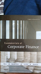 Fundamentals of corporate finance 8th Canadian edition