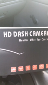 Hd dash cam with backup camera