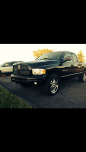 2002 Dodge Power Ram 1500 Cuir noir Pickup Truck
