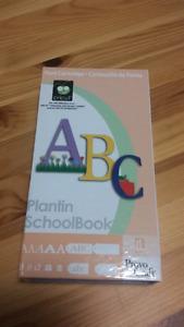 Cassette pour Cricut Plantin Schoolbook