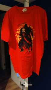 T-shirt d'anime rouge