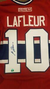 Guy Lafleur Autographed Jersey