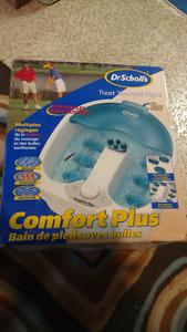 Dr Scholl's footbath with bubbles