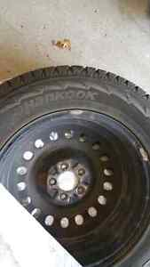 Hankook winter tires and rims 235 65 R18