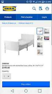 EUC Ikea Extendable Toddler to Single Bed