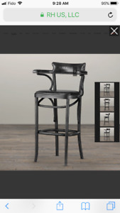 Searching for RH Vienna Cafe stool/chairs BLACK