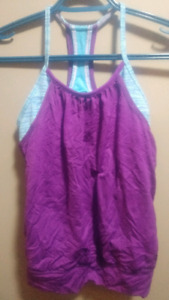 Ivivva Double Dutch Tank Top - size 10