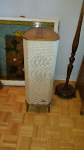 1 haut parleur GRUNDIG, 1950 vintage, fonctionnel
