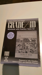 Grade Aid, workbook with practice test for Infants, Children, an