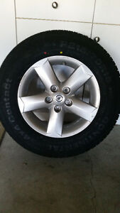 New Continental All-Season Tires with Alloy Rims Kitchener / Waterloo Kitchener Area image 1