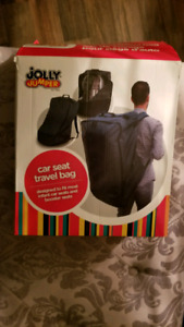 Jolly jumper travel bag for car seat