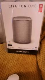 Harman Bluetooth speaker.