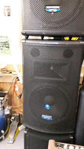 "Mackie SA1521z 15"" Active High End Professional Speakers"
