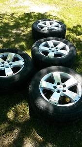 From a Pontiac Torrent 235 60 17 $400