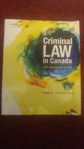 Criminal Law in Canada 5th ed. (Simon Verdun Jones)