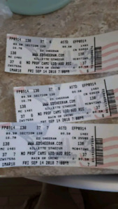 3 Ed Sheeran tickets for sale sept 14 gillette stadium