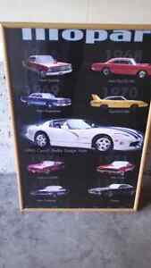 Mopar wall art Kitchener / Waterloo Kitchener Area image 1
