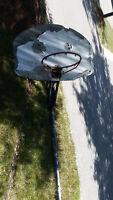 Used Basket ball net with pole, not base.