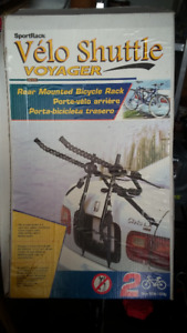 Sportrack rear mounted bicycle rack model a1110