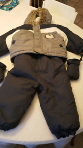 18 month toddler snow suit