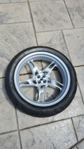BMW motorcycle wheel for R or K series