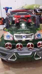 Jeep, auto téléguidé, jouet pour enfant, auto électrique