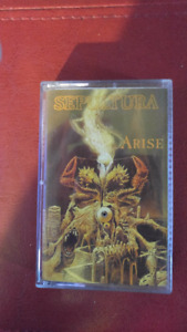 Cassette audio Sepultura ( Arise ) en excellente condition
