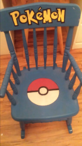 Toddler/Young child's Pokemon rocking chair