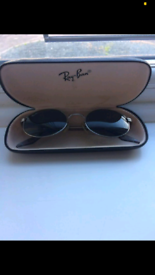 29539ea0f47e Genuine Vintage Bausch   Lomb Ray Ban W2187 G15 Oval Chrome sunglasses
