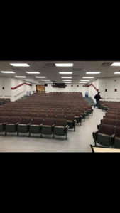 Lecture Hall Seating Can Be Used For Home Theatre