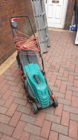 Bosch rotak 340 ER electric lawnmower