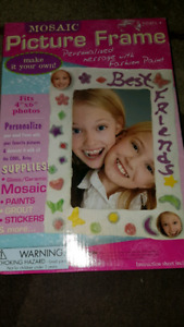 Personalized Mosaic Picture Frame☆New☆