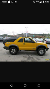 2003 Chevrolet Blazer Coupe (2 door)
