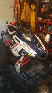 2012 Switchback Rush 800 limited edition extras