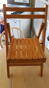 Cool little folding chair
