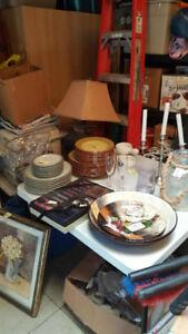 INDOOR GARAGE SALE new stuff!!!! open  view march 24th 8 am 4