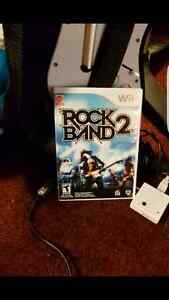 Rock band 2 and dance dance revolution