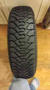 Goodyear Nordic winter snow tire P195 75 R14