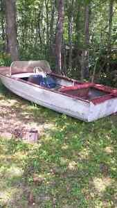 Boat trade for canoe
